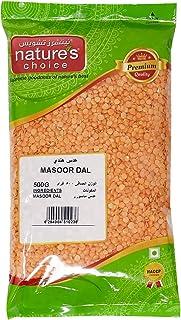 Natures Choice Lentils Masoor Dal - 500 gm