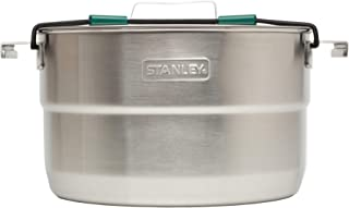 Stanley Base Camp Cook Set for 4 | 21 Pcs Nesting Cookware Made from Stainless Steel & BPA Free...