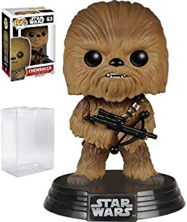 Star Wars: The Force Awakens - Chewbacca #63 Funko Pop! Vinyl Figure (Includes Compatible Pop Box Protector Case)