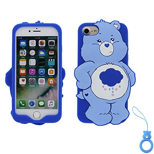 c50a6e89ba Artbling Case for iPhone 7 8,Silicone 3D Cartoon Animal Cover,Kids Girls  Cool