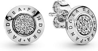 Pandora Women's 925 Sterling Silver Cubic Zirconia Earrings (290559CZ)