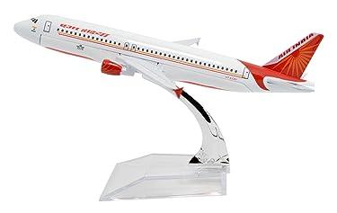 TANG DYNASTY(TM 1:400 16cm Air Bus A320 New Air India Metal Airplane Model Plane Toy Plane Model
