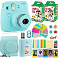 Fujifilm Instax Mini 9 Camera with Fuji Instant Film (40 Sheets) & Accessories Bundle Includes...