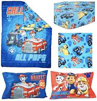 Paw Patrol Paw Patrol Calling All Pups 4-Piece Toddler Bedding Set