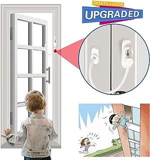 Window Guard Door Window Lock Sliding Door Locks for Baby Safety | Baby Safety Sliding Door Locks | Baby Sliding Window Locks | Childproof Locks for Security Sliding Window Sliding Door Need Drilling