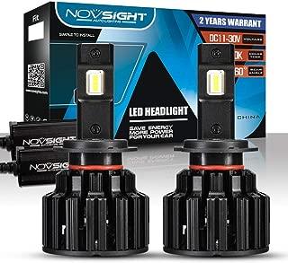 CARLAMPCR Lampadina H7 Led, LED 100W 20000 LM Fari Abbaglianti o Anabbaglianti per Auto Kit - Sostituzione per Luci Alogene o Lampade Hid Lampada Luminosa