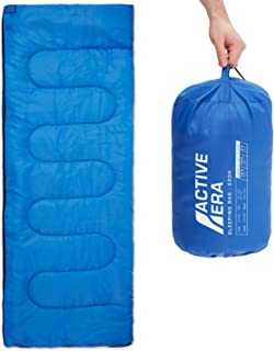 Active Era Sleeping Bag for Indoor and Outdoor use - Lightweight Premium Sleeping Bags for Adults, Kids and Teens - Warm a...