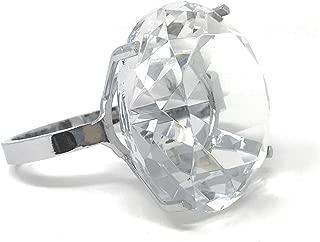 Godinger Silver Art Diamond Rock Ring- Paper Weight