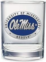 NCAA Mississippi Ole Miss Rebels Square Glass Shot Glass Set