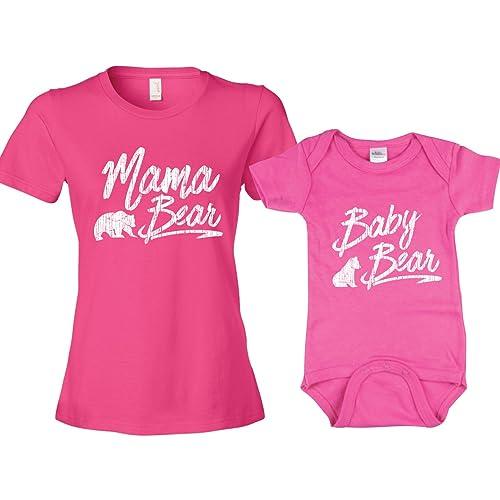 ea5f5f35968 Texas Tees Mama Bear Baby Cub Shirt Baby Bear Shirt