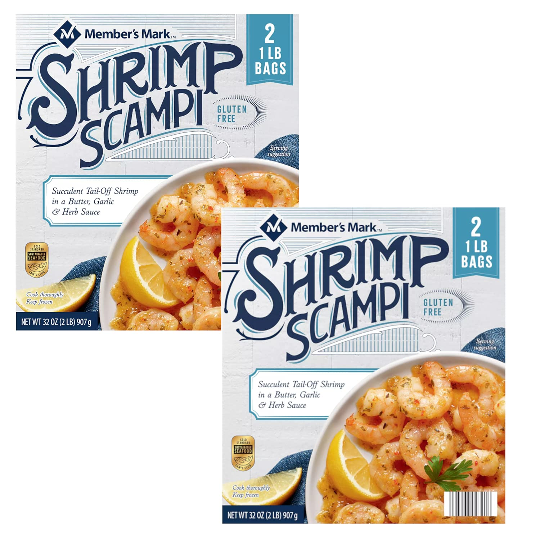 Member's Mark 100% quality warranty Shrimp Scampi Gluten off 5 ☆ popular Sh Tail Succulent Free
