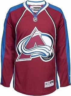 Reebok Colorado Avalanche NHL Burgundy Official Premier Home Jersey for Men