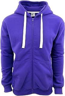 Henry & William Men's Basic Style Heavy-Weight Full-Zip Hooded Fleece Sweatshirt