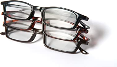Optx 20/20 Classic Reading Glasses, 200 (Pack of 3)
