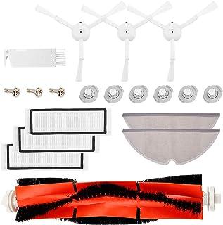 13pezzi Kit di Accessori per Xiaomi Roborock S60 S65 S50 S51 S55 S5 S6 e E35 E25 E20 C10 T6 T60 T65 Parti di Ricambio per Xiaomi MI Mijia Robot Aspirapolvere