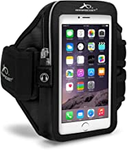 Armpocket Mega i-40 Plus Sweat/Weather Proof Phone Armband - Fits iPhone 11 Pro Max, Xs Max, 8 Plus, 7 Plus, 6 Plus, Galaxy Note 10+, S10, S10+, S9+, S8+, Note 9, Pixel 3XL, 2XL or Phones up to 7.0 Inches