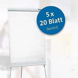 Dahle 95037 翻转图块(外套,70 g/qm,方格,20 张,68 x 95 cm)5 件装 白色
