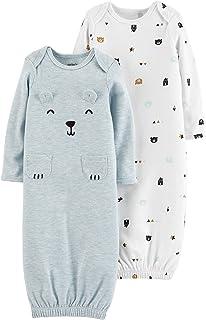 Carter's Baby Boys 2-pk. Bear Sleeper Gowns 3 Month Blue Multi