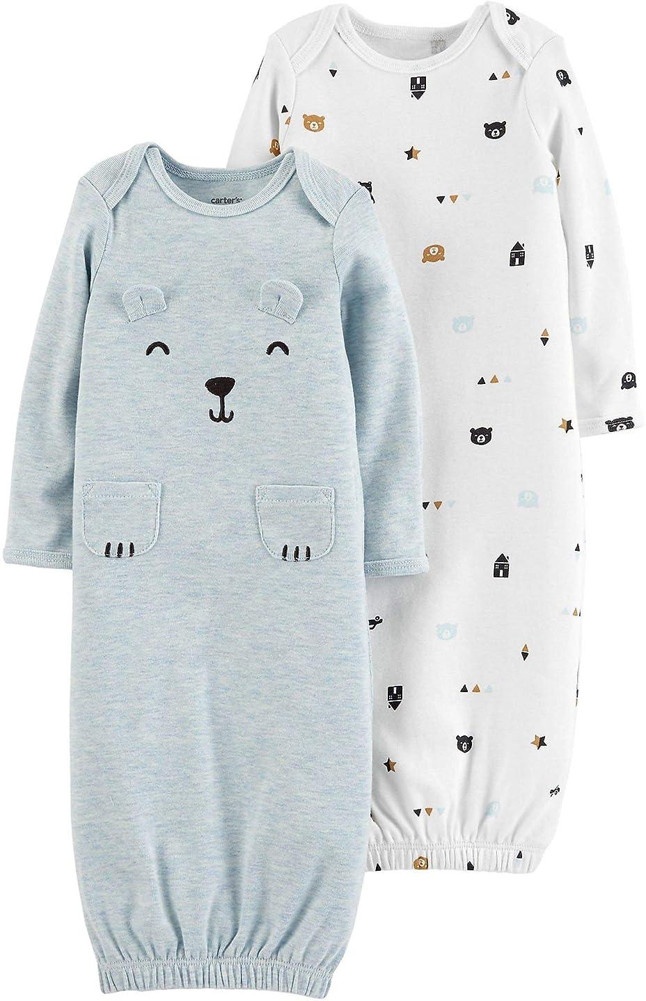 Carter's Baby Boys 2-pk. Bear Sleeper Gowns
