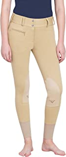 TuffRider Women's Cotton Lowrise Wide Waistband Breeches (Regular)