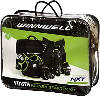 Winnwell Youth Cleansport NXT Hockey Pad and Bag Starter Kit