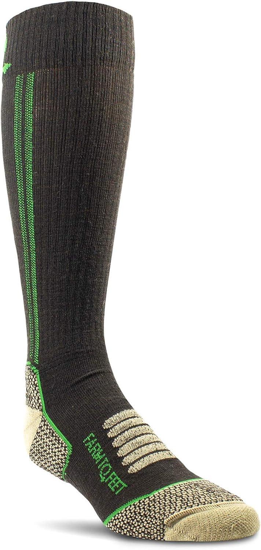 Farm to Feet mens Ely Light Weight Mid-calf Socks