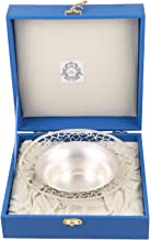 MSA JEWELS Silver Bowl Set (17.5 cm, Silver)