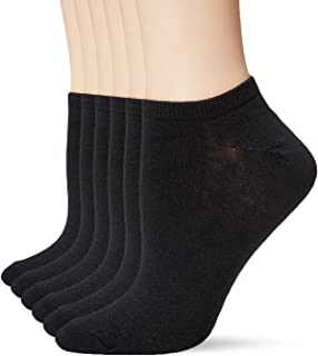 Women's 6 Pack Fashion No Show Liner Socks