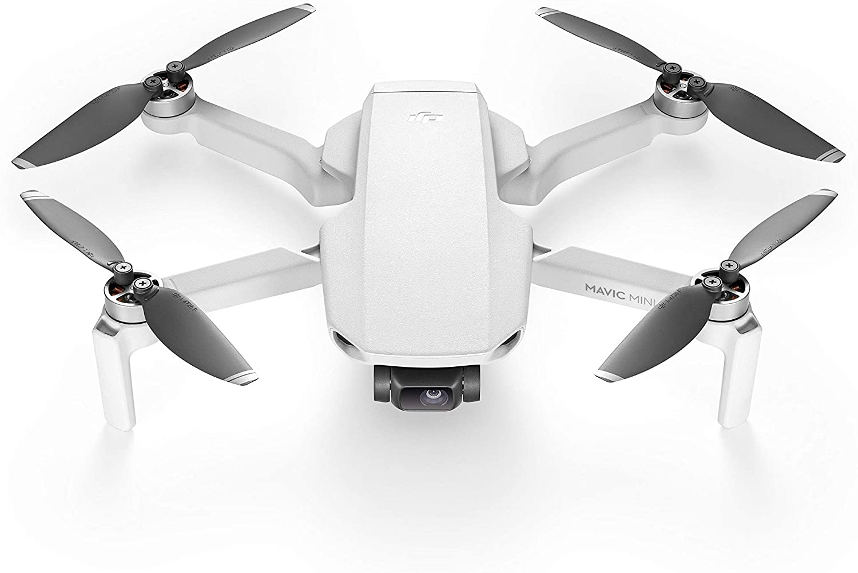 DJI Mavic Mini - Drone FlyCam Quadcopter UAV with 2.7K Camera 3-Axis Gimbal GPS 30min Flight Time, less than 0.55lbs,...