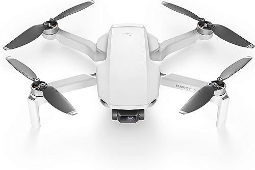 DJI CP.MA.00000120.01 Mavic Mini - Drone FlyCam Quadcopter UAV with 2.7K Camera 3-Axis Gimbal GPS 30min Flight Time, ...