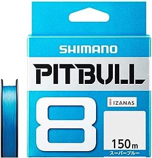 シマノ(SHIMANO) PEライン ピットブル 8本編み 150m 0.6号 スーパーブルー 14.5lb PL-M58R