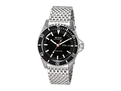 Mido 40.5 mm Ocean Star Tribute Automatic Stainless Steel Bracelet M0268301105100 (Silver) Watches
