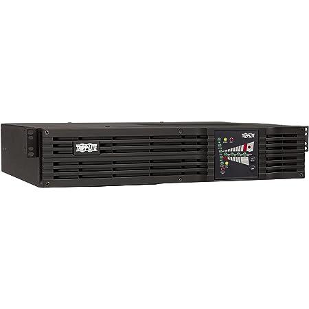 Tripp Lite 1000VA Smart Online UPS, 800W Double-Conversion, 2U Rackmount, Extended Run & Network Card Options, USB, DB9, 2 Year Warranty & $250,000 Insurance (SU1000RTXL2UA)