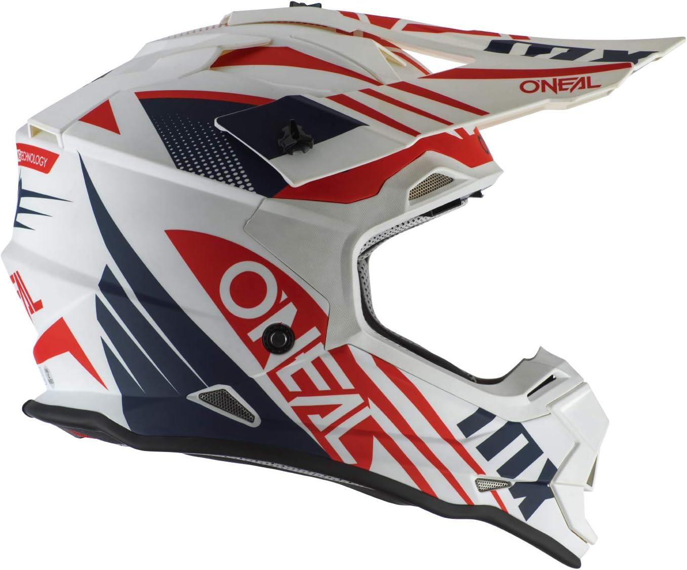 2SRS Helmet SPYDE 2.0 bianco//blu//rosso L 59//60 cm