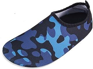 Zapatos De NatacióN para NiñOs En La Playa De Los Deportes AcuáTicos Deporte De Agua Descalzo Piel NiñOs NiñAs Bebé Antide...