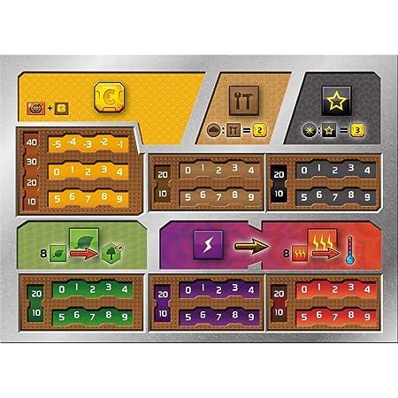 Terraforming Mars: Dual Layer Player Boards / テラフォーミングマーズ 2層式プレイヤーボード [並行輸入品]
