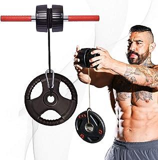 DMoose Forearm Exerciser, Wrist Exerciser and Wrist Roller, Forearm Workout Equipment, Forearm Blaster Strength Trainer an...