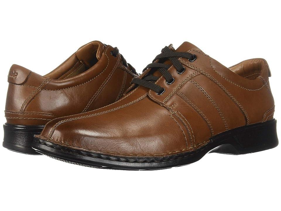 Clarks Touareg Vibe (Brown Leather) Men