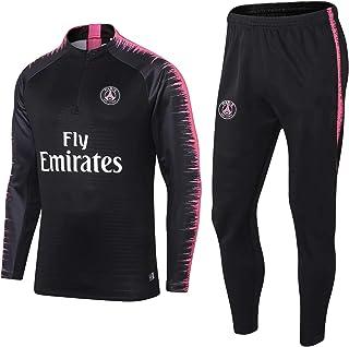 Paris Langarm-Sportbekleidung, Paris European Football Club Männer Fußball Sweatshirt Langarm Frühling und Herbst Breathab...