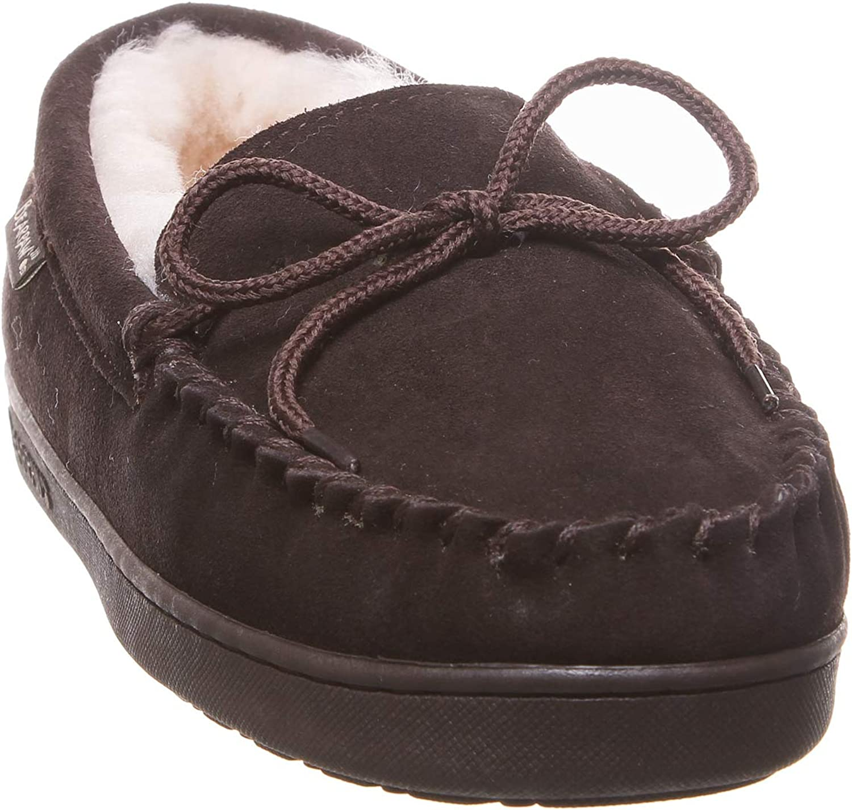 Bearpaw Womens Moc II Womens Sheepskin Moccasins  Slippers