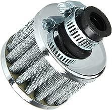 Filtro de aire frío de 13mm para ventilación del motor del automóvil