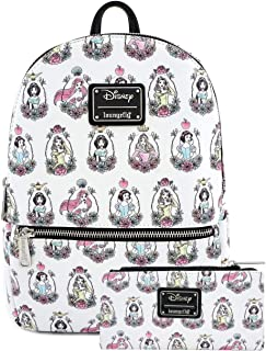 Loungefly Disney Princess Mini Backpack and Wallet Set