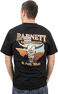 30290591 Mens Orange B&S Black Short Sleeve T-Shirt
