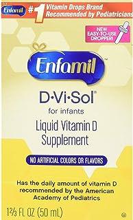 Enfamil 美赞臣 D-Vi-Sol维生素D补充剂滴剂,50毫升(2支装)