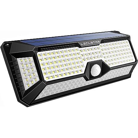 74 COB LEDs Motion Sensor Light 2 Modes Wireless.. JUSLIT Solar Lights Outdoor