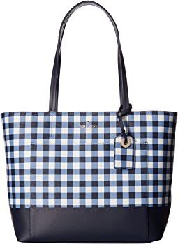 Kate Spade New York Hyde Lane Gingham Small Riley