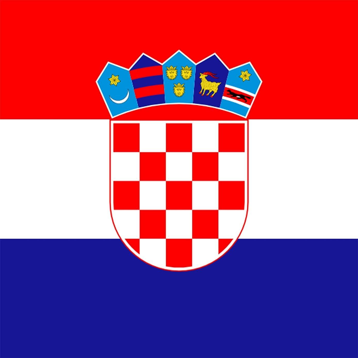 Croatia - World Country National Flags - Vinyl Sticker