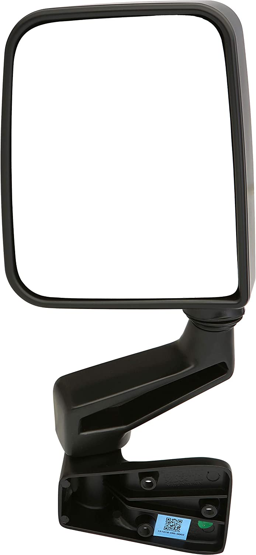 Dependable Direct Left Driver Side Black sale Rapid rise Door Folding Non-Heated
