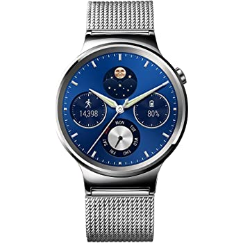 Huawei Watch Stainless Steel with Stainless Steel Mesh Band (U.S. Warranty)