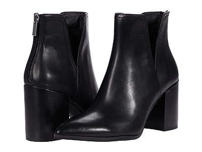 Steve Madden Darci Booties (Black Leather) Women